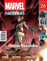 Marvel Fact Files #26 Eaglemoss Publications